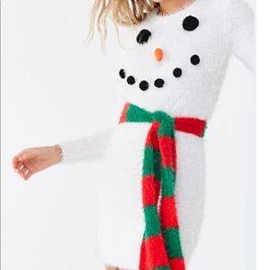 Ugly Christmas sweater mini dress